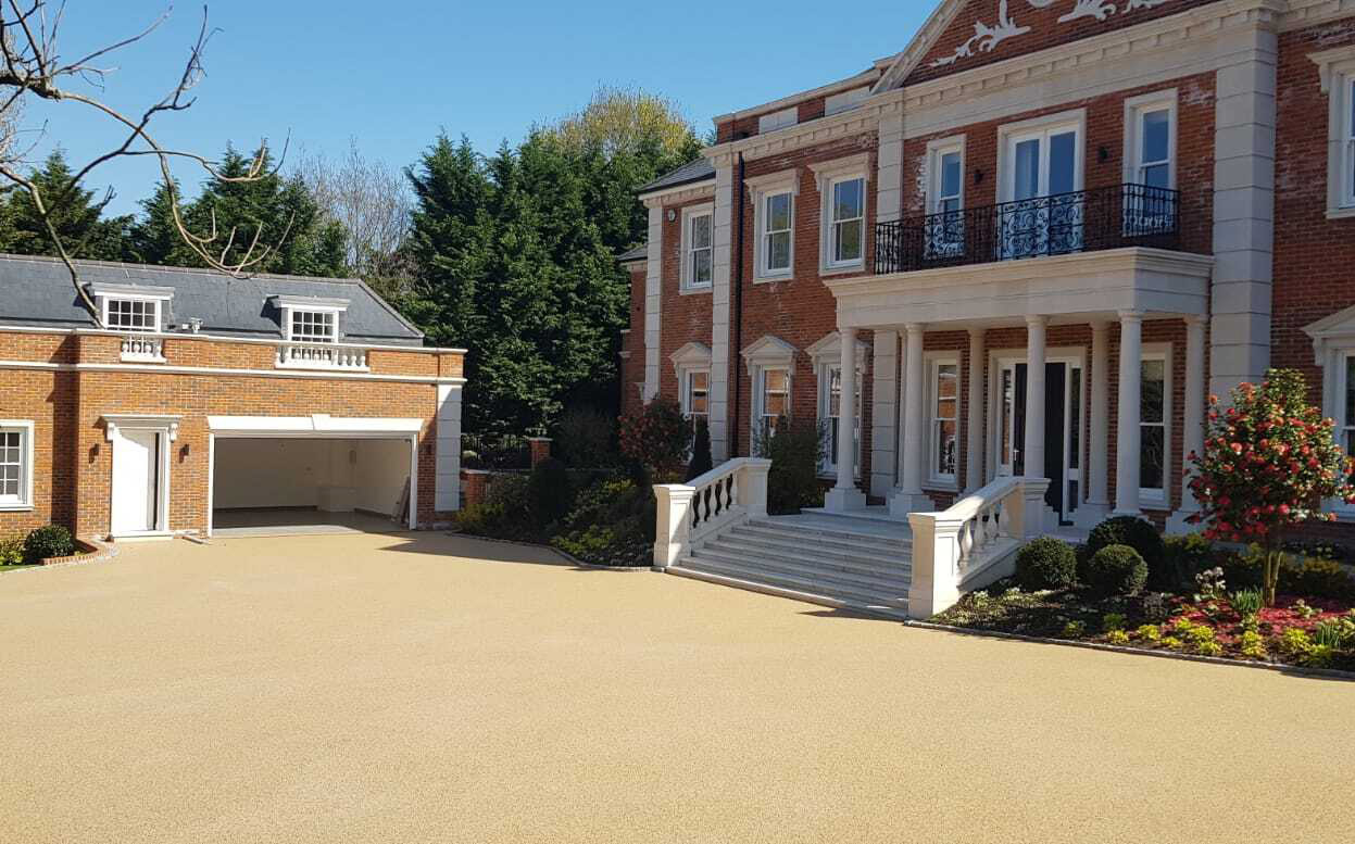 resin bound gravel driveway services